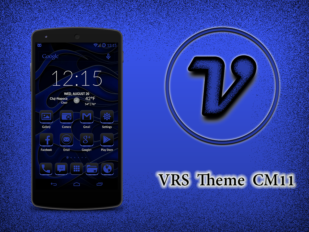 Gmail blue theme - Vrs Blue Theme Cm11 Screenshot