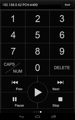 Popcorn Hour Remote Control 2.0.3 screenshots 5