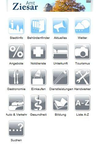 Cityguide Ziesar - screenshot