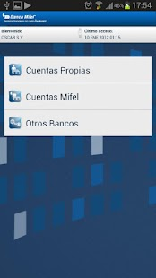 Banca Mifel - screenshot thumbnail