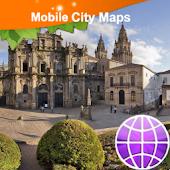 Santiago de Compostela Map