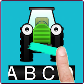 ABC Draw and learn letters