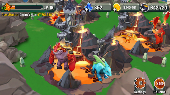 Giant Realms : Battle Arena - screenshot thumbnail