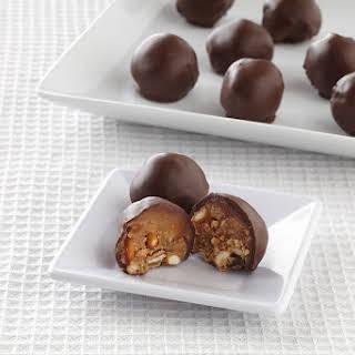 Peanut Butter-Pretzel Bonbons.