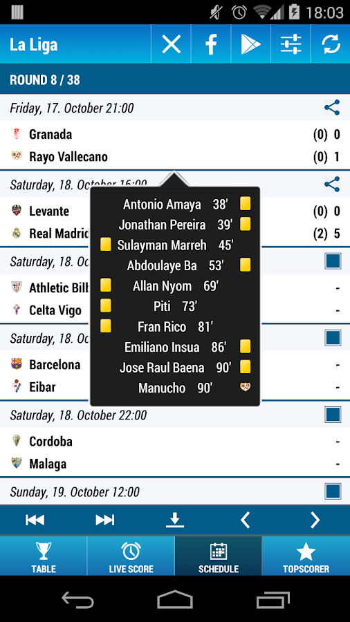 La Liga Soccer - screenshot