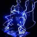 Blue DJ logo