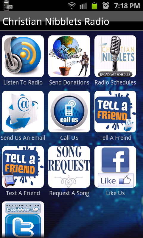 Christian Nibblets Radio- screenshot