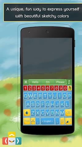 ai.type Sketch Colors Keyboard Screenshot