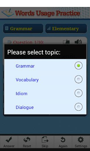 【免費教育App】Trắc nghiệm tiếng Anh-APP點子