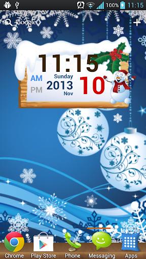 玩個人化App|聖誕節數字時鍾免費|APP試玩
