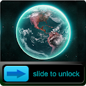 3D Earth HD Go Locker Theme