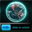 3D Earth HD Go Locker Theme