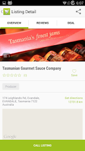 Tasmanian Food Guide - screenshot thumbnail