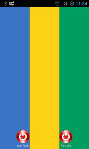 Lantern flash screen Gabon