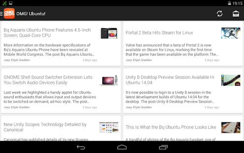 OMG! Ubuntu! for Android - screenshot thumbnail