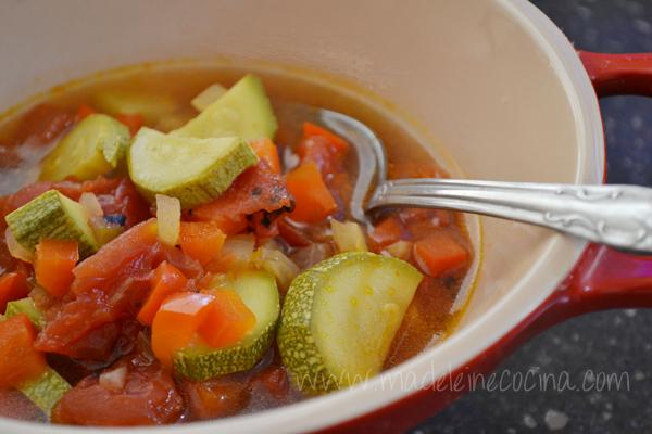 Five Vegetable Soup