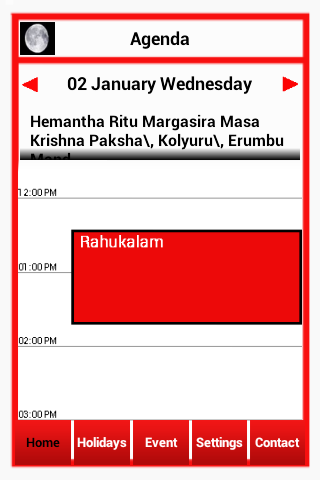 BANGALORE PRESS e-Calendar - screenshot