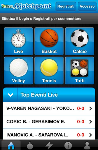 Match-Point Scommesse Mobile