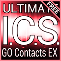 Red ICS GO Contacts EX Theme icon
