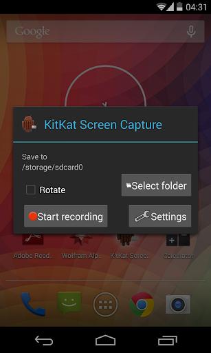 KitKat Screen Capture