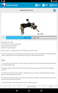 JEFIT Pro - Workout & Fitness - screenshot thumbnail