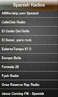 Screenshot of Spanish Radio - español radio