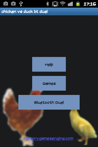 Chicken vs Duck Bluetooth Duel