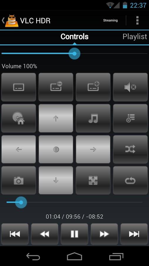 VLC HD Remote (+ Stream)- screenshot