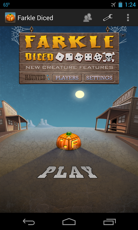 Farkle Diced - Ghost Town - screenshot