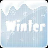 Winter go launcher ex theme 1.9