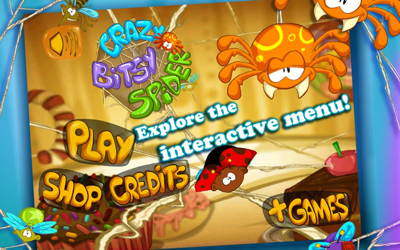 Crazy Bitsy Spider FREE Game - Android Apps on Google Play