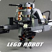 Cool Lego Robot Wallpaper