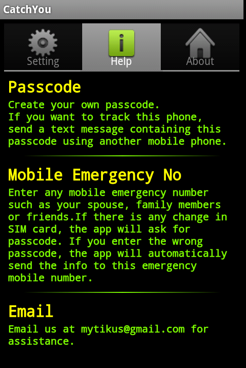 Phone Locator and SIM Detector- screenshot