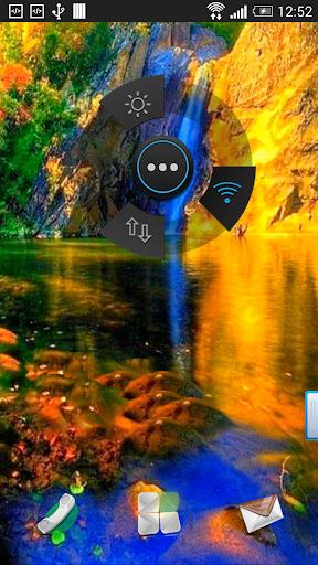 Gold River Live Wallpaper
