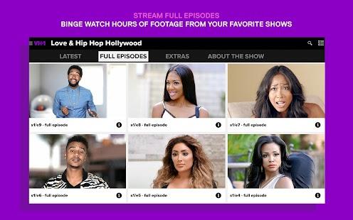 Watch VH1 TV- screenshot thumbnail