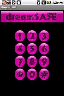 Pink Zebra Dream Safe