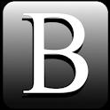 Black Google Search logo