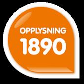 Opplysning 1890
