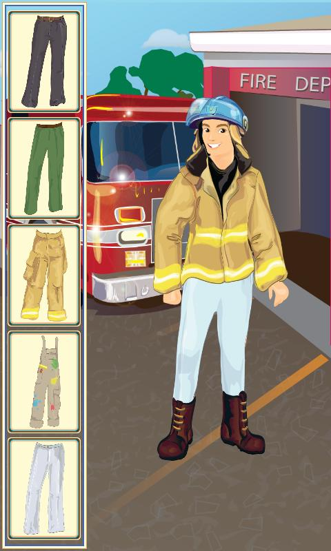 Kids Professions Dressing Game - screenshot