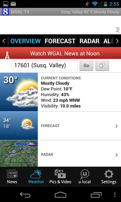 WGAL News 8 and Weather- screenshot