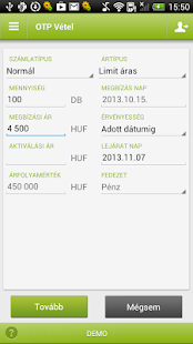 OTP SmartBroker - screenshot thumbnail