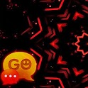 Red Black GO SMS Theme icon