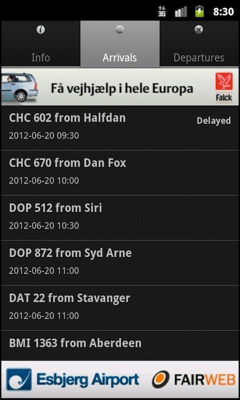 Esbjerg Airport - screenshot