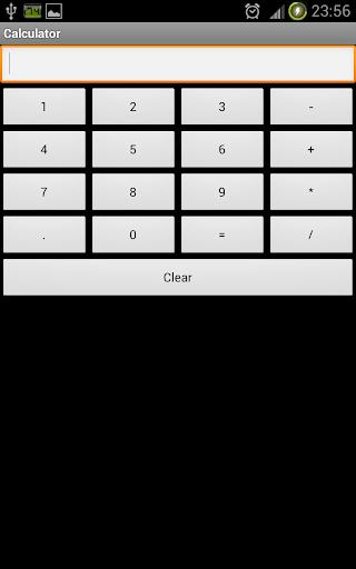 Very simple calculator