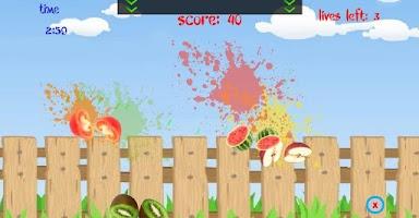 Screenshot of Crazy Fruits Killer
