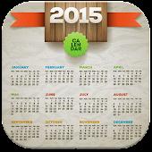 2015 Calendar Photo Frames