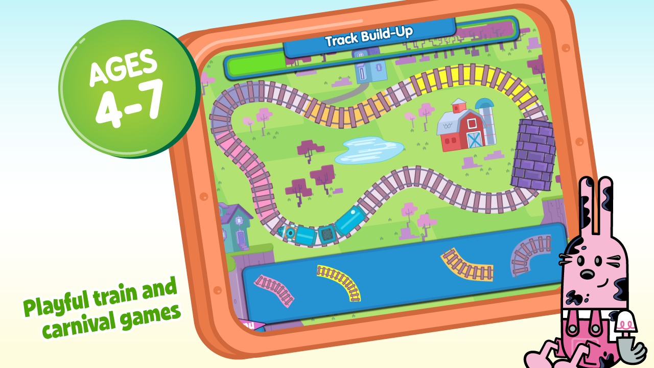 Wubbzy's Train Adventure - screenshot