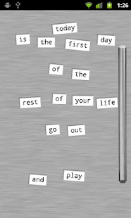 Refrigerator Poetry - Free - screenshot thumbnail