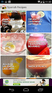 Cookbook free : Spanish Recipe - screenshot thumbnail