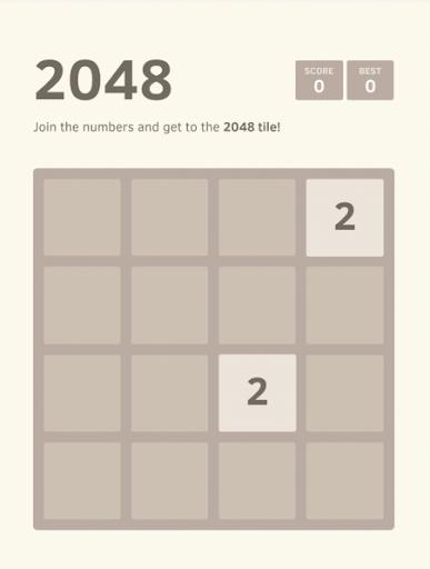 2048 Number Original